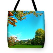 The Leaves Are Turning Golden... Tote Bag