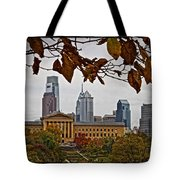 The Leaves Of Philly Tote Bag