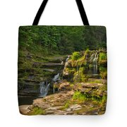 The Ledges Waterfalls Tote Bag