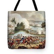 The Left Wing Of The British Army Tote Bag