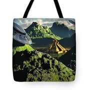 The Legendary South American Golden Tote Bag by Mark Stevenson