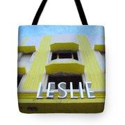 The Leslie Hotel Tote Bag