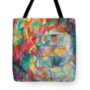 The Letter Caf 2 Tote Bag