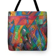 The Letter Dalet 2 Tote Bag by David Baruch Wolk