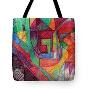 The Letter Peh Tote Bag