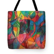 The Letter Yud Tote Bag