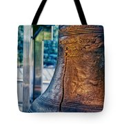 The Liberty Bell In Philadelphia Tote Bag