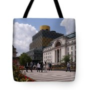 The Library Of Birmingham Tote Bag