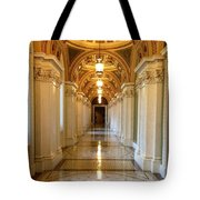 The Library Of Congress Jefferson Building Tote Bag