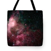 The Life And Death Of Stars Tote Bag