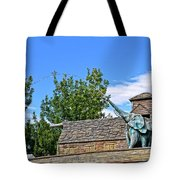 The Life Of An Elephant Tote Bag
