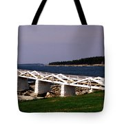 The Light At Marshall Point Tote Bag