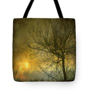 The Light Escapes Through The Clouds Tote Bag by Guido Montanes Castillo