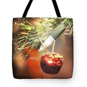 The Light Of Christmas Tote Bag