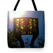 The Light Of Knowledge Tote Bag