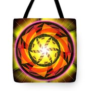 The Light Of Zen Tote Bag