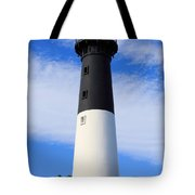 The Lighthouse At Hunting Island State Park In South Carolina Tote Bag