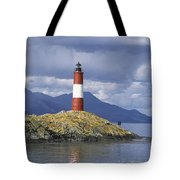 The Lighthouse At The End Of The World Tote Bag