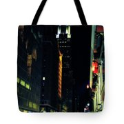 The Lights Of New York City Tote Bag