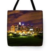 The Lights Of Philadelphia Tote Bag