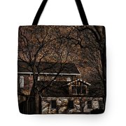 The Lights Went Out In Platte Tote Bag