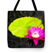 The Lily Pad And Flower... Tote Bag