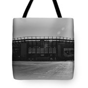 The Linc In Black And White Tote Bag