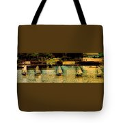 The Line Up Tote Bag