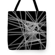 The Lines Of Martha Graham L Bw Tote Bag