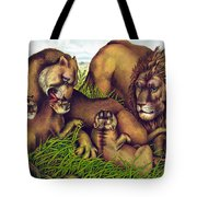 The Lion Family Tote Bag