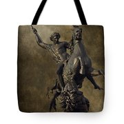 The Lion Fighter Tote Bag by Tom Gari Gallery-Three-Photography