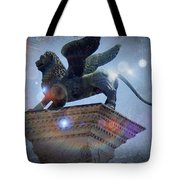 The Lion Of Venice Tote Bag
