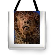 The Lion Poster Tote Bag