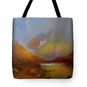 The Little Croft On The Isle Of Skye Scotland Tote Bag