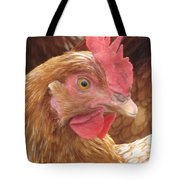 The Little Red Chicken Tote Bag