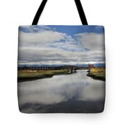 The Little Red Love Shack Tote Bag by Laurie Search