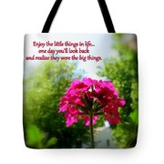 The Little Things Tote Bag