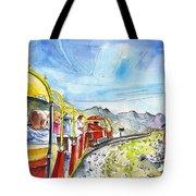 The Little Train Of Artouste Tote Bag