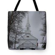 The Little White Church Tote Bag