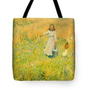The Little Worker Tote Bag