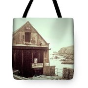 The Lizard Lifeboat Station Polpeor Cove Tote Bag