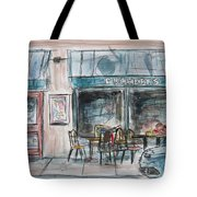 The Local Chat N Chew Tote Bag by Tim Ross