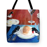 The Local Lunch Crowd Tote Bag