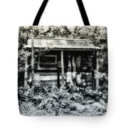 The Log Cabin Tote Bag