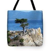 The Lone Cypress Tote Bag