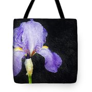 The Lone Iris Tote Bag