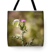 The Lonely Butterfly Tote Bag