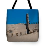 The Lonely Driftwood Tote Bag