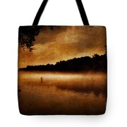 The Lonely Fisherman Tote Bag