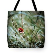 The Lonely Flower Tote Bag